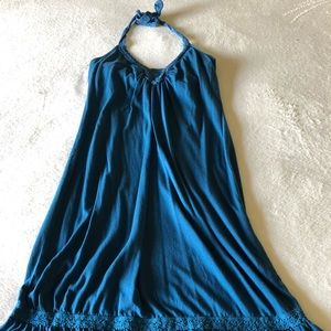 Turquoise Halter Top Billabong Dress